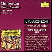 Paul Ostrovsky,Paul Ostrovsky,Shlomo Mintz : Mendelssohn: Violin Sonatas op.4 CD