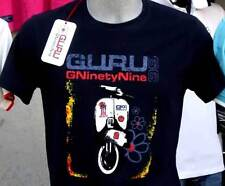T-shirt uomo Guru mezza manica a girocollo con stampa vespa e logo art GN437