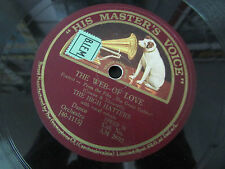THE HIGH HATTERS   78T   THE WEB OF LOVE / I'M IN LOVE WITH YOU