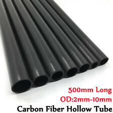 10X Carbon Fiber Tube OD 2-10mm Hollow Pipe/Rod  Pole for RC Airplane kite model