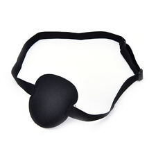 Medical Use Concave Eye Patch Foam Groove Adjustable Strap Washable Eyeshades TB