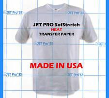"Jet-Pro SofStretch Inkjet ink Printer Heat Transfer Paper 8.5""x11"" 100 Sheets :)"