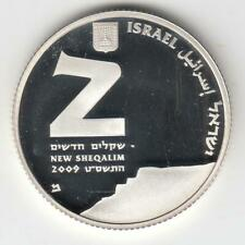 2009 Israel Masada / Unesco World Heritage Sites Proof Silver Coin, 2NIS  #2
