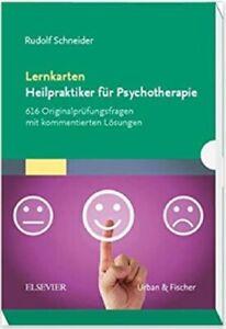 Lernkarten Heilpraktiker für Psychotherapie, 616 Originalprüfungsfragen, NEU/OVP