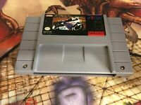 GP-1 GP1 Atlus Racing Super Nintendo game cartridge