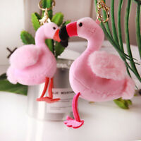 Pink Plush Soft flamingo bird Stuffed Animal bird Toy Appease doll Gift New