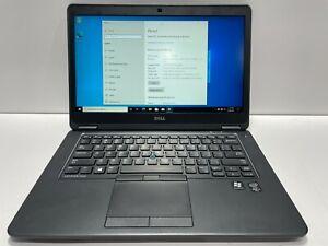 """Dell Latitude E7450 i5-5300U 2.30 GHz 4GB RAM 500GB SSHD Win10 14"""" Screen"""