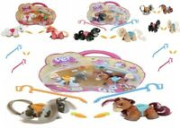 Pet Parade Pony Double Blister Ages 3+ Toy Horse Play Gift Pack Ponies Comb Lead