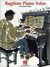 Ragtime Piano Solos Partituras Libro Cancionero Scott Joplin Melodías Canciones