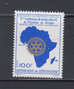 Ivory Coast 1982 Rotary International Sc 623   mint very lightly hinged