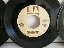 DEL REEVES Pour it all on me / belles of Broadway UA XW564 X