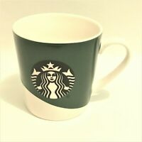 Starbucks Green and White Coffee Cup Mug Logo in Center 18 Oz
