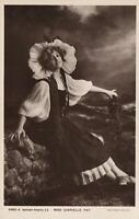 1910 VINTAGE MISS GABRIELLE RAY GLAMOUR POSTCARD ROTARY PHOTOGRAPHIC SERIES USED