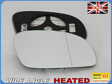 Wing Mirror Glass For VW NEW BEETLE 2003-2010  Aspheric HEATED Right Side #1035