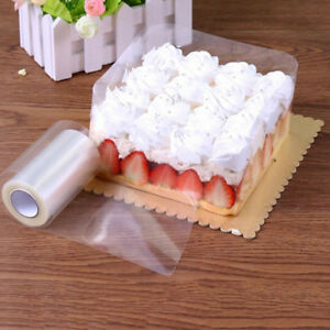 Transparent Clear Mousse Surrounding Edge Wrapping Tape For Baking Cake Collar