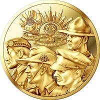 NOUVEAU ! FRANCE jeton médaille GRANDE GUERRE 1918 2018 COMMONWEALTH DISPO
