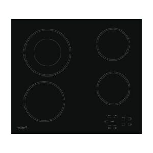 Hotpoint HR612CH 4 Zone Crystal Finish Touch-Control Hob in Black