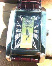 ED HARDY: Love Kills Slowly w/Brown Leather 2-Piece Strap Men's Watch. 316L