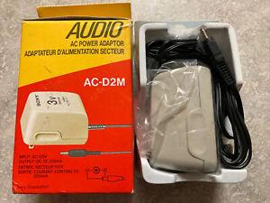 Sony AC Power Adaptor AC-D2M New In Original Box Output 3V, 350mA 120V