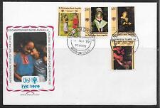 WEIHNACHTEN 1979-UNICEF/ St.Christopher-Nevis-Anguilla MiNr 383/86 **