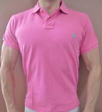 New NWT Mens Polo Ralph Lauren Polo Shirt Muscle Custom Fit M Medium