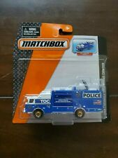 Matchbox  E-One Mobile Command Center Blue