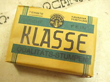 ZIGARREN 10 STUMPEN KLASSE WEHRMACHT ORIGINAL UNGEÖFFNET MARKETENDERWARE RATION