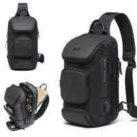 Charging Port Water Resistant Day Chest Pack Sling Bag One Single Strap Backpack
