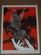 Emancipate Dave Kinsey signed numbered screen print poster Fairey Obey Banksy