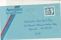 sweden 1981 stamps cover ref 19565