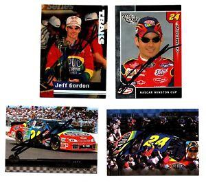 NASCAR Jeff Gordon authentic autographed card lot NO RESERVE