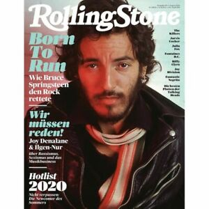 Rolling Stone 2020/08 BRUCE SPRINGSTEEN Magazine Germany RARE