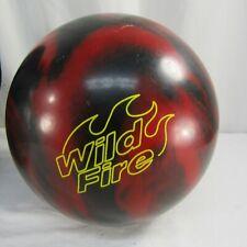 Brunswick Wildfire 12 lb 10 oz Bowling Ball Black Red