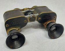 C.P. GOERZ BERLIN 3 1/2 X FAGO TRIEDER BINOCLE SMALL OPERA GLASSES