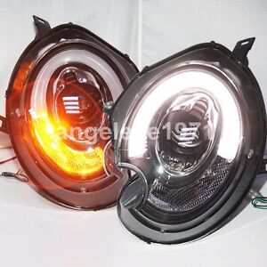 2007-2013 For Mini Cooper Clubman R55 R56 R57 LED Front Lamps Fit Xenon Version