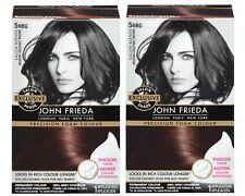 John Frieda Precision Foam Hair Color  5NBG Medium Chesnut Brown (2 Pack) Lot