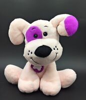 "Card Factory Poochie Pets Pink & Purple Puppy Dog Soft Toy Comforter 11"" High"