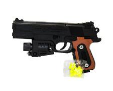Pistola Giocattolo con Luci Laser 6 MM e Pallini Inclusi mod 459