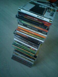 LOT DE 30 CD REGGAE BOB MARLEY ECT
