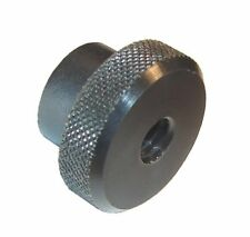 Black Oxide Steel knurled Machinist Thumb nut, 3/8-16, High Strength, NEW