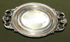Vintage small ornate silver plated bowl