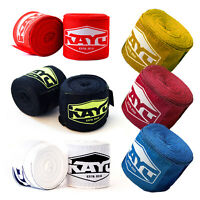 Repton Red Camo Hand Wraps Bandages Boxing Inner Gloves Muay Thai MMA 3.5m