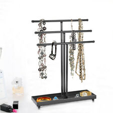 Tabletop Jewelry Holder Organizer Earring Necklace Shelf Rack Storage Display US