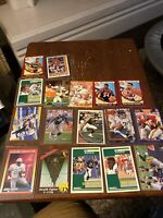 Lot of (17) Sports Cards: 1990 SCORE #325 BARRY SANDERS, Magic Johnson and More!