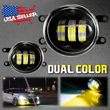 Whiteyellow Dual Color 20w High Power Led Fog Light Kit For Lexus Toyota Scion