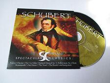 CD Série Spectaculars Classics - Schubert (pochette cartonnée)