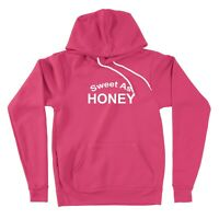 Sweet as Honey Sweater Pullover Hoodie Unisex Gift Print Sweatshirt