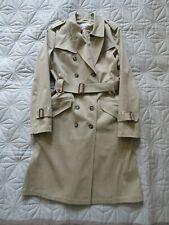 STRENESSE Trenchcoat Gr.36 UK10 beige khaki sand, im Burberry Kleidersack