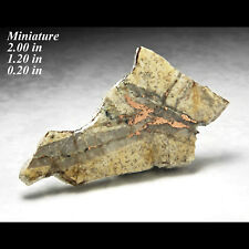 NATIVE COPPER METAL SLAB MICHIGAN MINERAL CRYSTAL-MIN