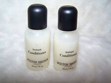 (2) Molton Brown Instant Conditioner 30 ml/ 1 fl oz, New, Great Deal